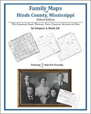 Family Maps Hinds County Mississippi Genealogy MS Plat