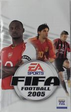 Notice de FIFA FOOTBALL 2005 sur playstation 2 PS2 booklet manual livret vintage