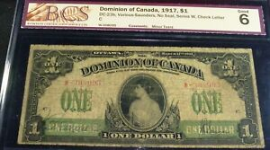 1917 PRINCESS PARTRICIA ,DOMINION OF CANADA , serial #W 308095