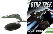 STAR TREK Official Starships Magazine #20 KLINGON ATTACK CRUISER VOR'CHA CLASS