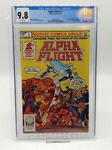 Alpha Flight #1 CGC 9.8 Pristine Slab COMBINED SHIPPING! Marvel MCU