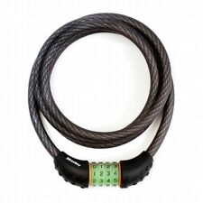 Bike Lock Cable 5 11/12ft With Number Combination, with Bracket, Zweiradschloss