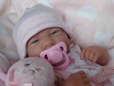 Bambola realistica realistici ❤ Berenguer La Newborn REAL BABY GIRL REBORN/PLAY
