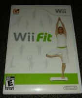 Wii FIT - Wii - COMPLETE W MANUAL - FREE S/H - (T)