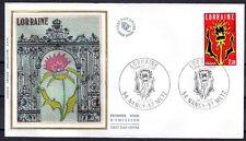 FRANCE FDC - 2065 1 LORRAINE - 10 Novembre 1979 - LUXE sur soie
