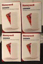"""Brand New """"4"""" Honeywell 5800MINI Wireless Slim Contact 5811 Replacement, Battery"""