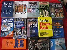 18 Lexikon Bücher Bücherpaket > Nachschlagewerke >10 ungelesen > Buch > Bände