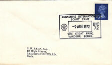 (41937) CLEARANCE GB Cover Berkshire Scout Camp Great Park Windsor 9 August 1972
