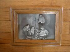 1936 RADIO PROMO PRINT & CALENDAR - The PIKARD FAMILY