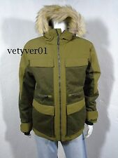 NWT MARMOT Concord 700-Fill-Power Down Waterproof Jacket Parka Brown Moss sz M