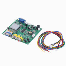 New RGB CGA EGA YUV to VGA HD Video Converter Board Moudle HD9800 GBS8200 DP