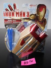 NEW!! MARVEL IRON MAN 3 ARC FX WRIST ARMOR LIGHTS SOUNDS LAUNCH MISSILES! A8-16