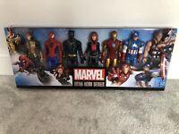 "NEW Marvel Titan Hero Series X7 Avengers Loki Spiderman Iron Man Thor 11"" Figure"