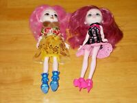 Mattel Monster High 2 dolls 2015 pre-Owned complete outfits with shoes