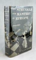 A J P Taylor First Edition 1954 The Struggle for Mastery in Europe Hardcover DJ