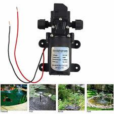 DC 12V 60W High Pressure Micro Diaphragm Water Pump Automatic Switch 5L/min Pump