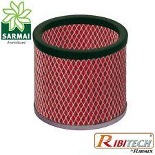 Ricambio filtro HEPA lavabile per aspiracenere Ribitech CENERIX CENERIL PRCEN008