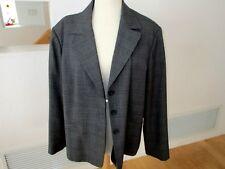 Rafaella Blazer Jacket-Gray Plaid -Size 22W -NWOT #R23