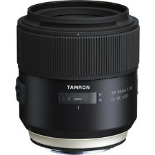 Tamron SP 85mm f/1.8 Di VC USD Lens For Canon Digital SLR Cameras - *NEW*