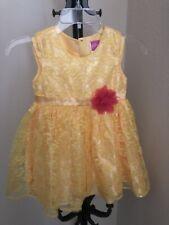 Disney Princess Belle Dress Size 4/5