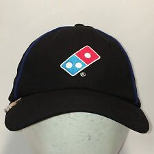 Dominos Pizza Employee Restaurant Hat Black Lightweight Baseball Cap T27 AG8035