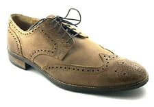 Cole Haan Brown Oxford Wingtip Shoes Mens Size 11.5 Lenox Hill