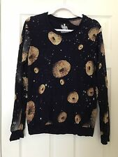 Drop Dead Clothing - VERY RARE- Men's Small Donut Sweater  - Oliver Sykes