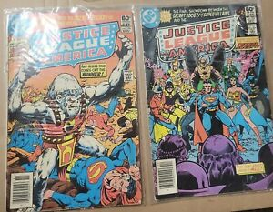 Justice League of America #196 & 197 team up w/Justice Society! KEY ISSUE!