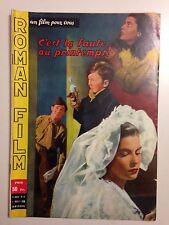 UN FILM POUR VOUS N°13 JUILL 1958 C'EST LA FAUTE AU PRINTEMPS / VARZI ANGELOTTI