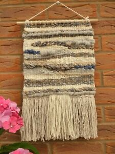 Hand Woven Modern Textile Tapestry Wool Wall Hanging Wall Art Nursery Home Gift