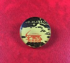 EXTREMELY RARE PIN BADGE BUTTON USSR RUSSIA SPACE LUNOKHOD1 10.11.1970 Cosmos.