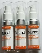 Pack of 3 - Murad Advanced Active Radiance Serum 0.5 Fl Oz/ 15 ml - NEW - No Box