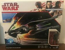 "STAR WARS ""Last Jedi""  KYLO REN TIE SILENCER Hasbro force link NEW in BOX"