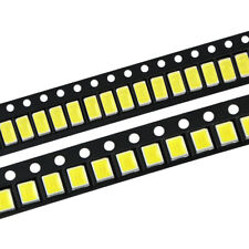 100pcslot Led Diodes White 2835 5730 505 Smd Leds Diode Chip Lamp Beads Bright