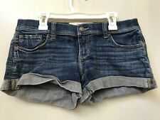 Gilly Hicks Womens 2 W26/Jean Shorts Sydney Cheeky Stretch Distressed Denim