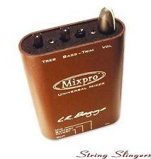 LR Baggs MixPro Belt-Clip Dual channel Acoustic Preamp Mixer