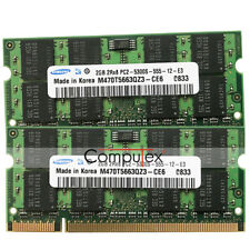 New 4GB KIT 2x2GB  667MHz PC2-5300 DDR2 For iMac 20inch Late-2006 MA589LL Memory
