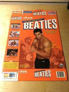 UFC Seg Era Beaties Cereal Box Frank Shamrock Throwdown Video Game Playstation
