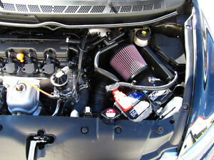 K&N Performance Cold Air Intake Fits 06-2011 Civic 1.8L +6HP - CARB Approved!
