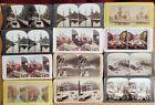 12 Vintage Stereoview Cards Holland, Austria, Netherlands