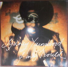 "12"" Maxi Sydney Youngblood ‎– If Only I Could,NEAR MINT,cleaned, Circa ‎YRT 34"