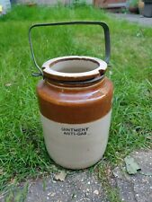 More details for world war 2 anti-gas ointment jar / gas attack / ww2 memorabilia 9 43 lambeth?