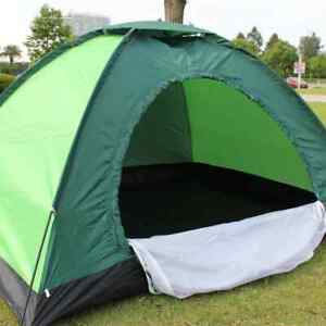 Double Single Layer Tent for Two Outdoor Ultralight Camping Waterproof UV Tent