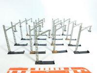 BX657-0,5# 17x Märklin H0/00/AC 407 M ? Guss-Mast für Oberleitung/ Fahrleitung