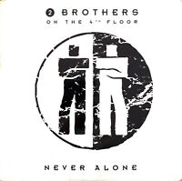 2 Brothers On The 4th Floor ‎CD Single Never Alone - Holland (VG+/EX)