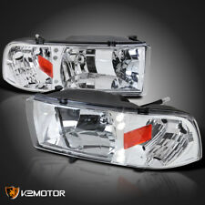 1994-2001 Dodge Ram 1500 LED Signal Headlights Chrome