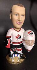 Team Canada Martin Brodeur Bobble Head GOLD base  *Rare
