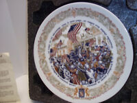 D'Arceau Limoges Collectible Plate Anthony John Kreiter