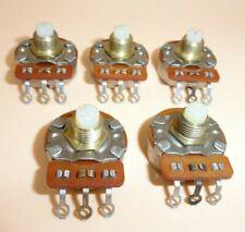 Linear Taper 100 Ohm Potentiometer Lot Of 5