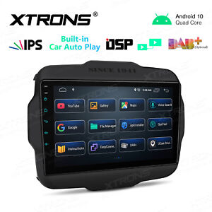 """9"""" Android 10.0 Car GPS Auto Radio Stereo Navigation For Jeep Renegade 2015-2020"""